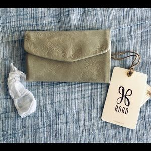 Hobo Lacy Trifold envelope style wallet NWT